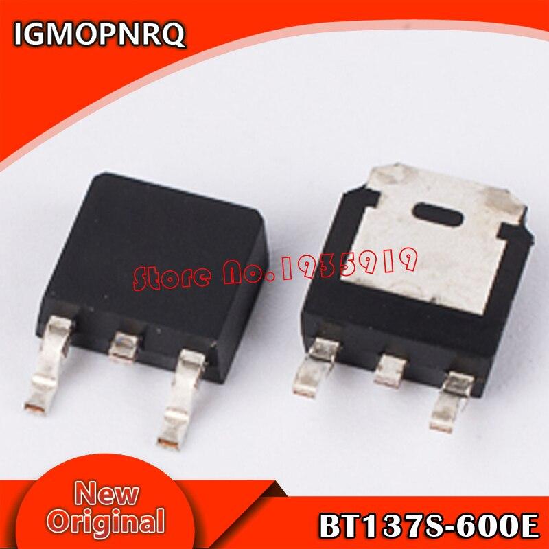 10pcs BT137S-600E BT137S triac SMD TO252 package new origina HV