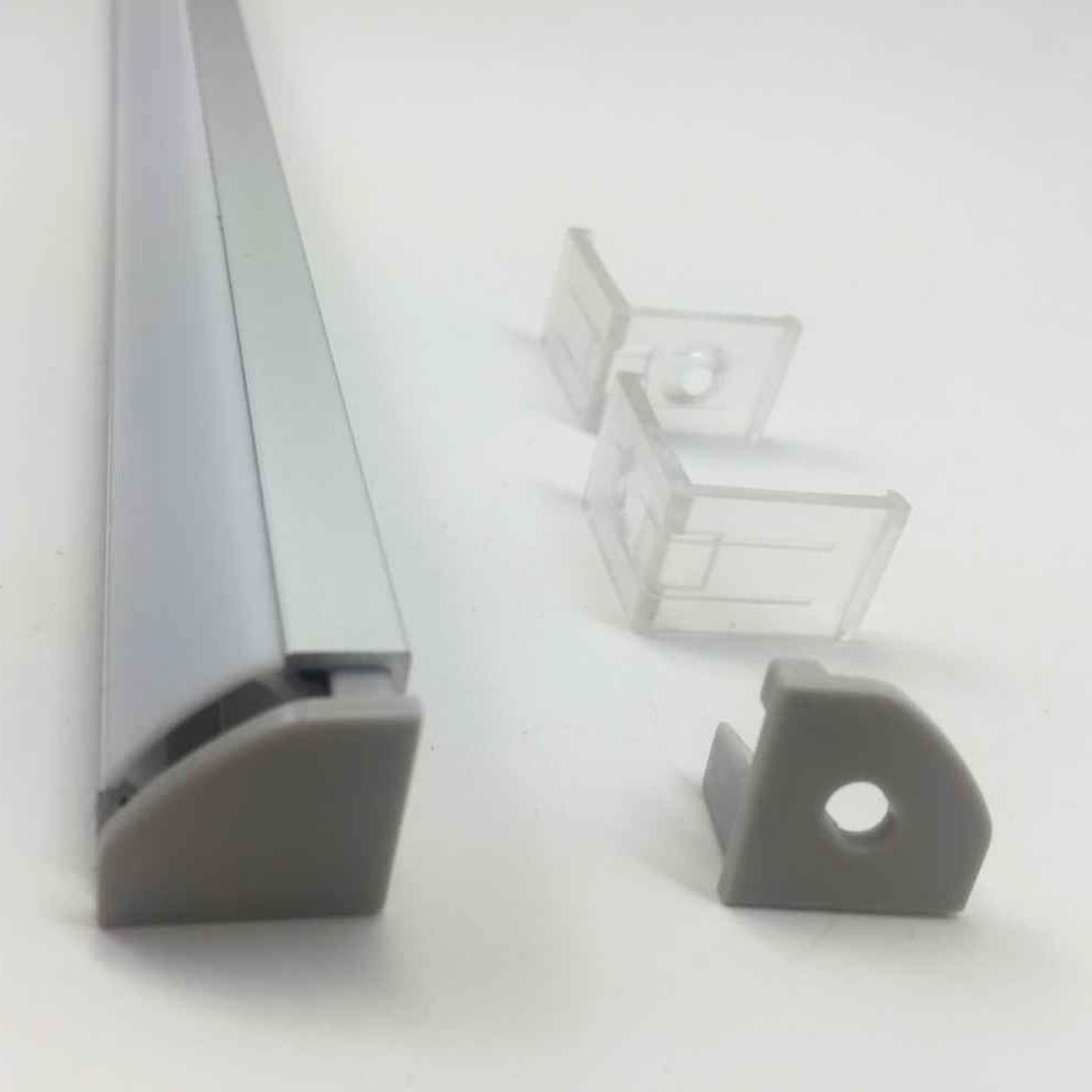 5-տուփ LED ալյումինե պրոֆիլ 3.3ft / 1 մ - LED լուսավորություն - Լուսանկար 2