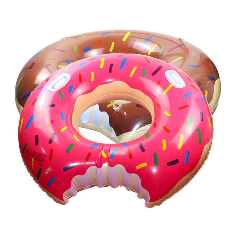 SMALL ROAMING Donut Inflatable Circle Adult Children Swimming Ring Swimming Pool Inflatable Float Adult Children Pool Party