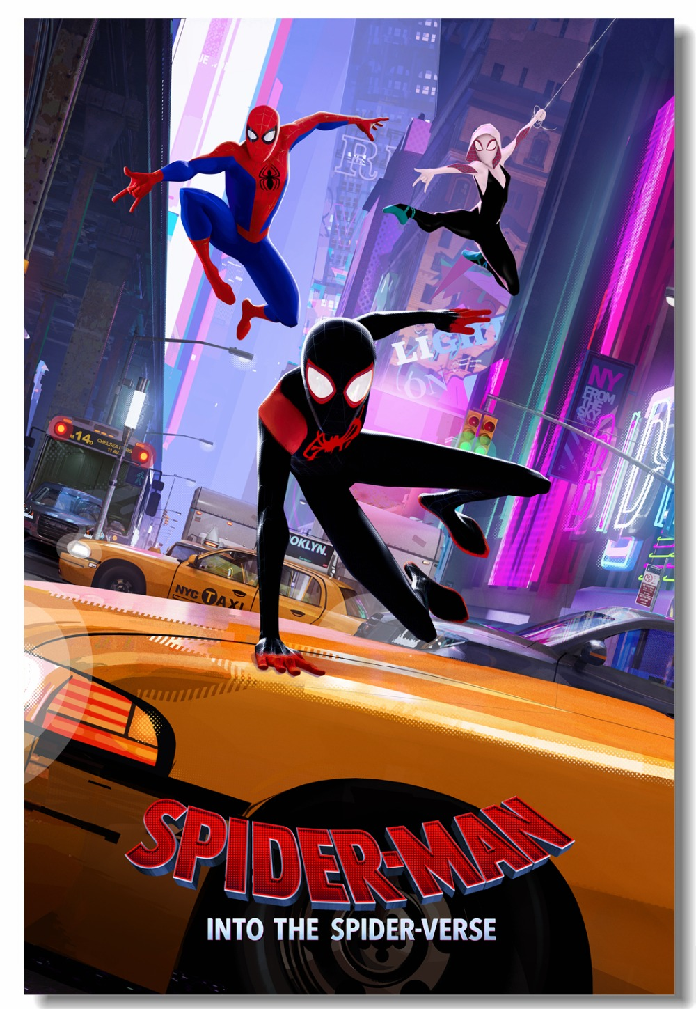 Image result for into the spider verse poster