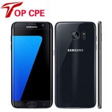 "Refurbished Samsung Galaxy S7 Edge G935F & G935V Smartphone 5.5"" 4GB RAM 32GB ROM Single SIM NFC 12MP 1080P 4G LTE Mobile Phone"