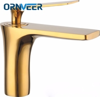 Innovative Fashion Style Home Multi color Bath Basin Faucet Cold and Hot Water Taps Gold Black White Chrome Antique Color