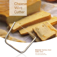 Кухонный нож для сыра, герметичный, бытовой, эргономичный, проволочный, из нержавеющей стали, легко чистится, нескользящий, анти-легкий