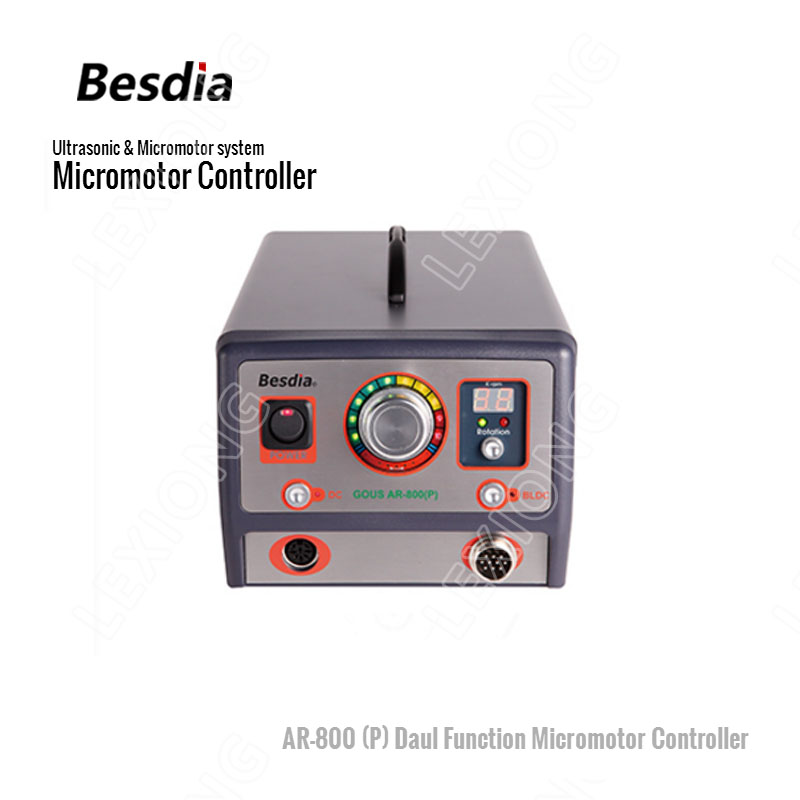 TAIWAN Besdia Ultrasoon & Micromotor systeem AR-800 (P) Daul Functie Micromotor Controller