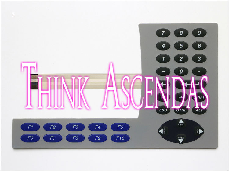 5pcs New PanelView Plus 600 2711P-K6 2711P-K6M5D 2711P-K6M8A 2711P-K6M8D 2711P-K6M20A 2711P-K6M20D Membrane Keypad цена и фото