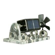 DIY Solar Fan Motors 300-1500Rpm Manual Creative Mendocino Magnetic Levitation Blade Motor For Laboratory & Toys