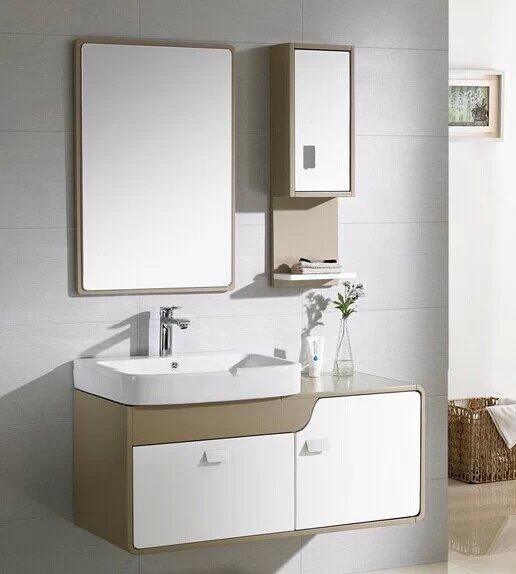 Modern Solid Wood Bathroom Vanity Cabinet, Bath Cabinet, Bath Vanity