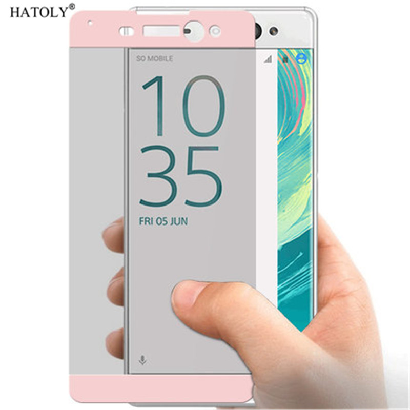 Full Cover Screen Protectors For Sony Xperia XA Ultra Glass Tempered Glass Film For Sony Xperia XA Ultra Glass For Sony XA Ultra