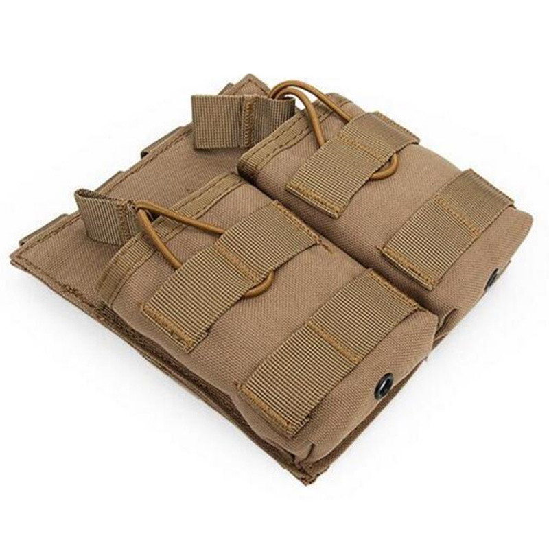 Camouflage Military 7.62 Molle Pouches Double Magazine Package Hunting Shooting Vest Belt Utility Airsoft Tactical Molle Pouches