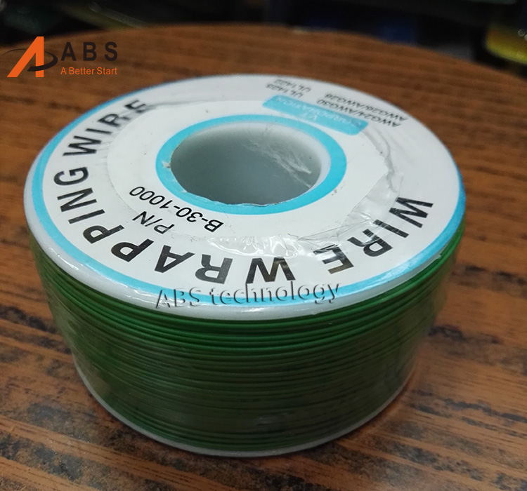 Freeshipping 305 meters long electrical wire, wrapping wire high ...