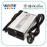 51.1 V 4A Carregador de Bateria de 44.8 V LiFePO4 Carregador Inteligente Usado para 14 S 44.8 V LiFePO4 Bateria De Alta Potência com Ventilador De Alumínio Caso