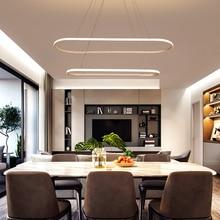 Minimalist Modern Chandelier For Diningroom Kitchen lustre suspension AC85-265V hanglamp nordic lamp led Fixtures