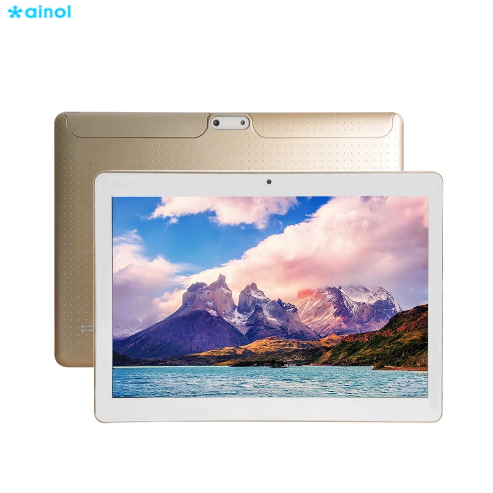 Ainol 10.1inch Android 4.4 HD IPS Screen 3G Phone Call Tablet 1280 * 800 Tablet PC Quad Core 5000mAh 8GB ROM Dual SIM GPS OTG thl w200c octa core 720p 5 0 ips android 4 2 wcdma phone w otg 8gb rom gps black