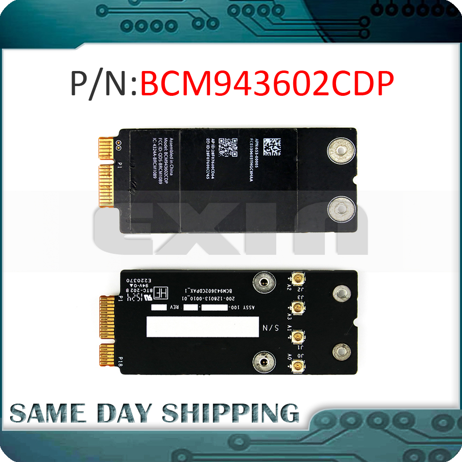 Original BCM943602CDP for Apple iMac 27 21 A1418 A1419 Wifi 802.11AC Bluetooth 4.0 Airport Card apple airport extreme