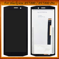 5.5 inch For Blackview BV5800 / BV5800 PRO LCD Display+Touch Screen Digitizer Tested OK Assembly Digitizer for BV 5800 LCD