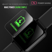 Electronic Watch Luxury Digital Watches Fashion Android IOS
