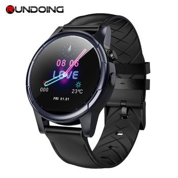 RUNDOING R360 4G Smart Watch Phone 1GB+16GB Android 7.1.1 1.6 inch Scratch Resistant HD Screen with GPS & Camera smartwatch men new garmin watch 2019