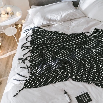 Drop Shipping knitted Blankets 130*180cm Warm Throw Plaid Blanket For Home Beds Sofa Car Blankets cobertor manta para sofa