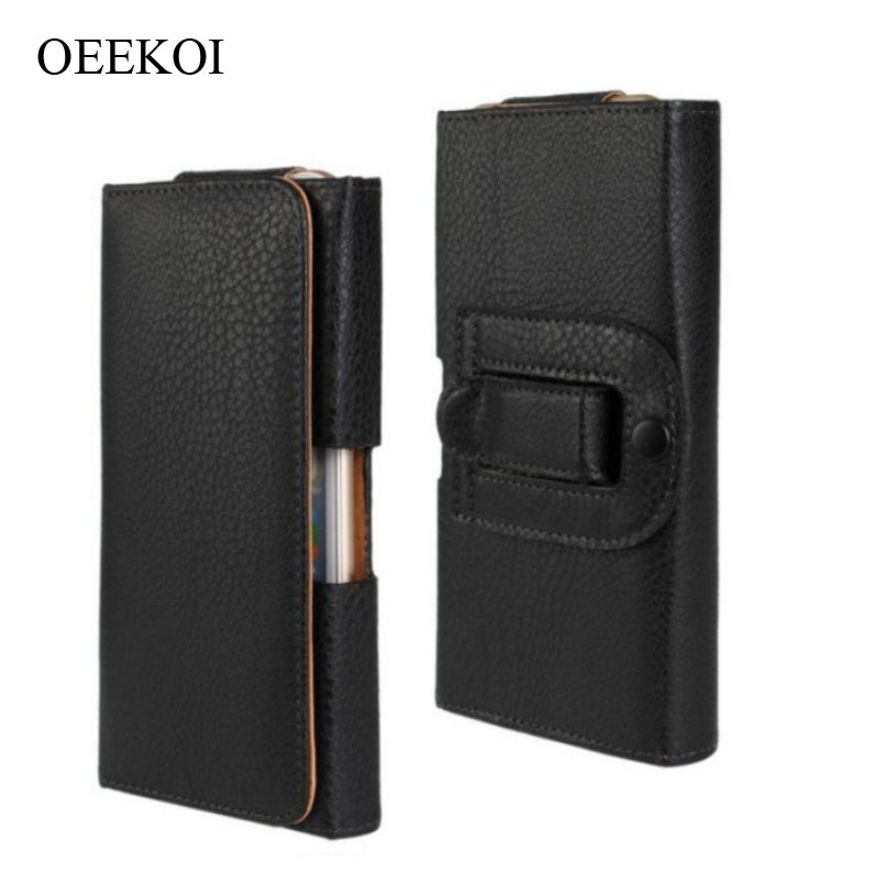 OEEKOI Belt Clip PU Leather Waist Holder Flip Cover Pouch Case for Xiaomi Black Shark 2/Redmi Y2/Redmi S2/Black Shark