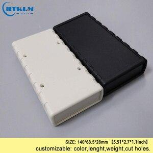 20pcs/lot DIY wire connection box diy project electronic plastic enclsoure junction circuit instrument Desktop box 140*68.5*28mm