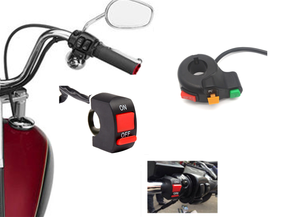 Motorcycle electric <font><b>accessories</b></font> horn turn signal headlight switch for <font><b>YAMAHA</b></font> YZF 600R Thundercat R1 R6 R25 FZ1 FAZER <font><b>FZS</b></font> 1000S image