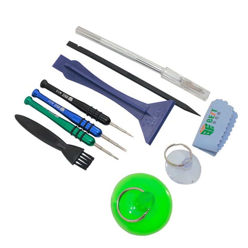 BST-607 9 in 1 Mobile Phone Repair Tools Kit Disassemble Screwdriver for iPhone Samsung Cell Phone
