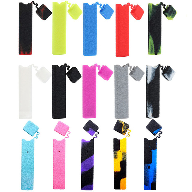 US $1 77 |Mr  Steam Litchi Silicone Case Cover Skin Sleeve Suitable For  JUUL Pods Vape Accessories 15 Colors-in Electronic Cigarette Accessories  from