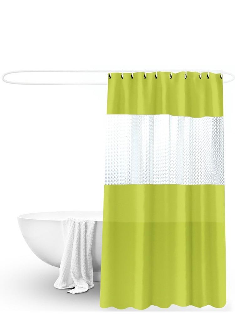 bathroom shower curtain set peva