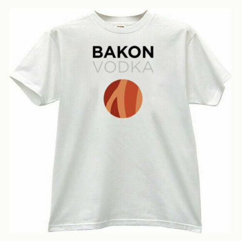 BAKON Vodka cocktails bartender t-shirt image