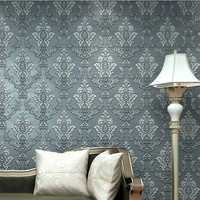 Suede Fringe Curve European Wallpaper For Living Room Bedroom Sofa Tv Backgroumd Of Wall Paper Roll