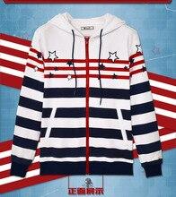 Anime Kantai Collection Lowa Cotton Fleece Hoodie Jacket Top Spring Coat Unisex Sweatshirt in stock free shipping