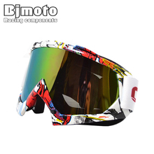 BJ-MG-001A  man/women motocross goggles glasses cycling eye ware MX off  Road helmets goggles Sport gafas for motorcycle