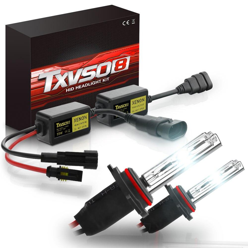 The Newest 2019 Lamps Globe TXVSO8 Xenon HID 55Wx2 Headlight Conversion SET Bulbs H1 H3 H4 Hi/Lo H7 H8H9H11 9004 9005HB3 9006HB4