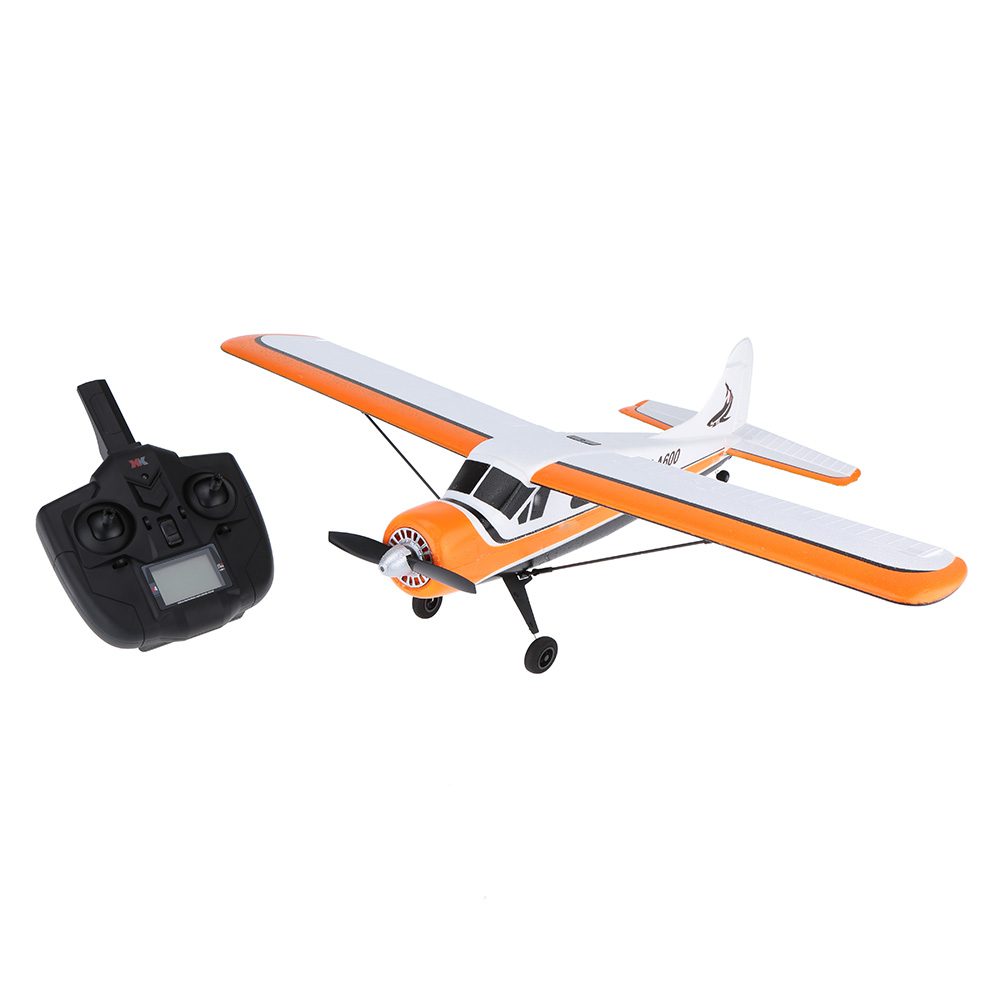 Original XK DHC-2 A600 5CH 2.4G Brushless Motor 3D6G RC Airplane original xk dhc 2 a600 2 4ghz 6ch transmitter for xk a600 a700 a430 rc airplane drone