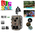 Lixada Portable Wildlife Hunting Camera 940nm IR LED 12MP HD Digital Infrared Scouting Trail Camera Night Vision Video Recorder