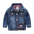 2016 Big Boys Denim Jackets Long Sleeve Kids Clothing Causal Boys Clothes Children Outwears Autumn Costume For Boys Outerwear