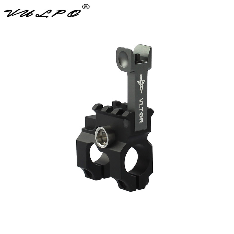 VULPO Vltor Front Folding Sight Tower QD Quick Release Sling Ring Front Base