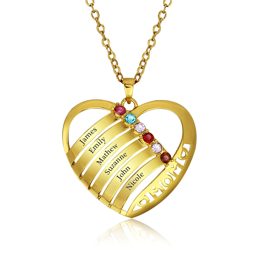 Qitian Russian Personalized Engraved Bar Necklaces ...  |Diy Custom Jewelry Pendant