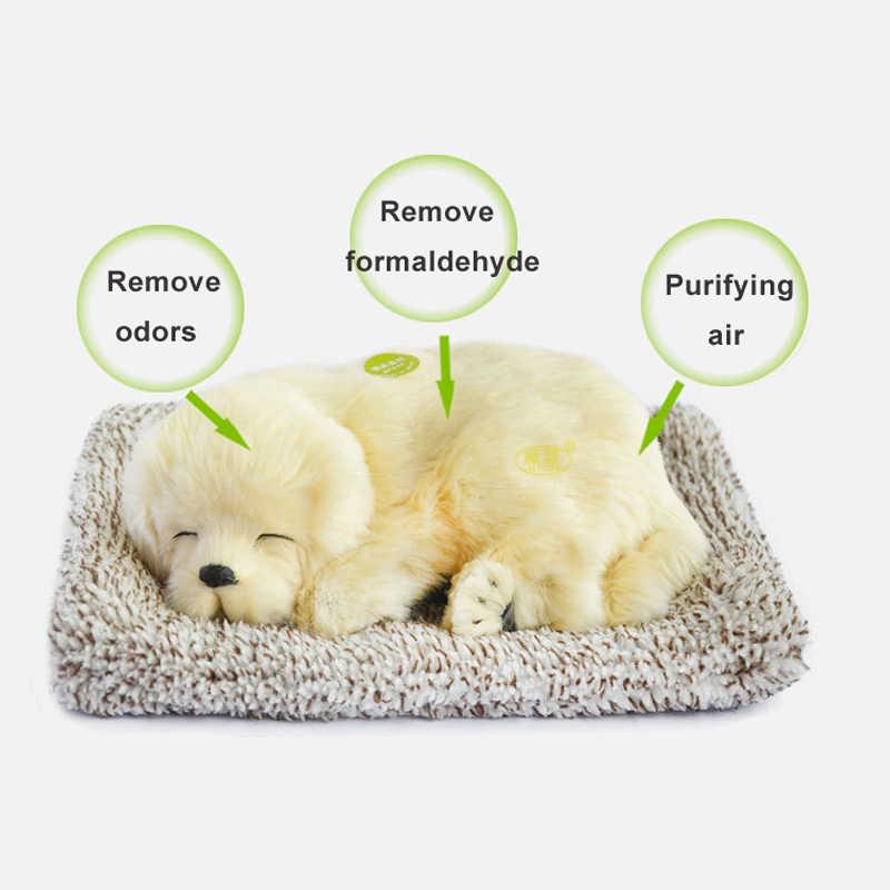 Бамбуковый уголь Адсорбция собака Защита окружающей среды Моделирование игрушка собака электронная собака плюшевые животные робот собака