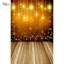 Yeele Vinyl Glitter Wood Floor Children Birthday Party Photography Background Wedding  Photographic Backdrop For Photo Studio