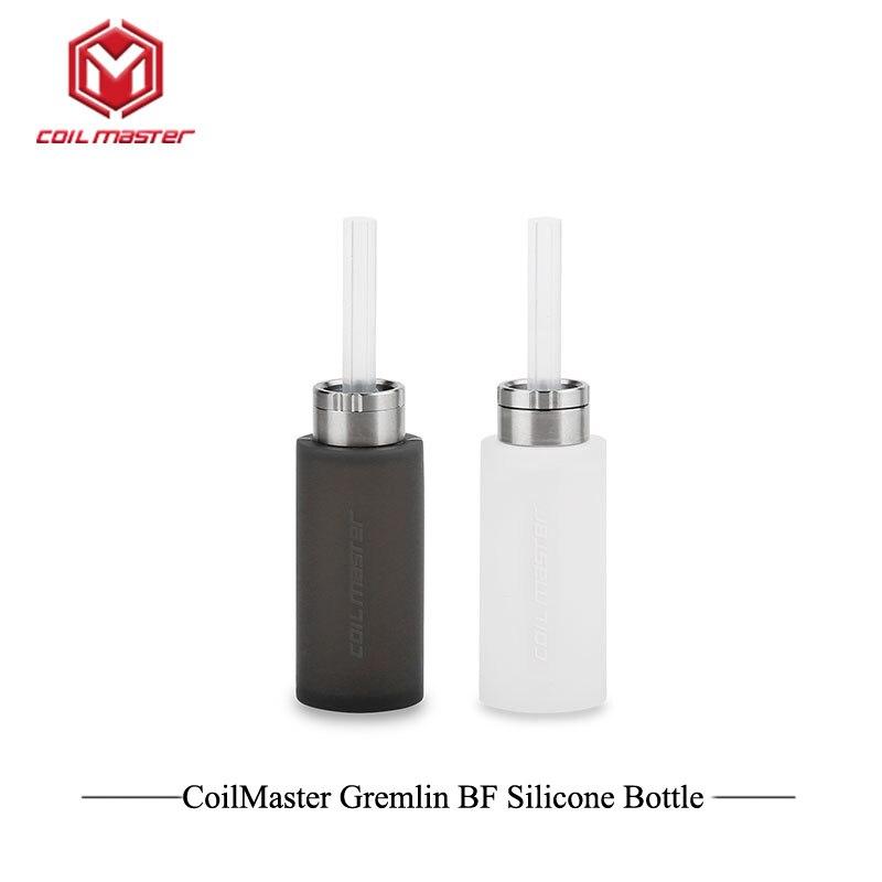 20 pcs/lot nouveauté bobine maître Gremlin BF Silicone bouteille CoilMaster 6 ml réservoir conteneur bon dispositif pour vaporisateur de vapeur