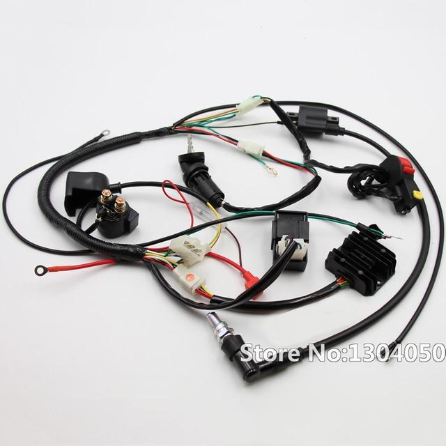Engine Electrics Wiring Harness Loom CDI Relay Recitifier