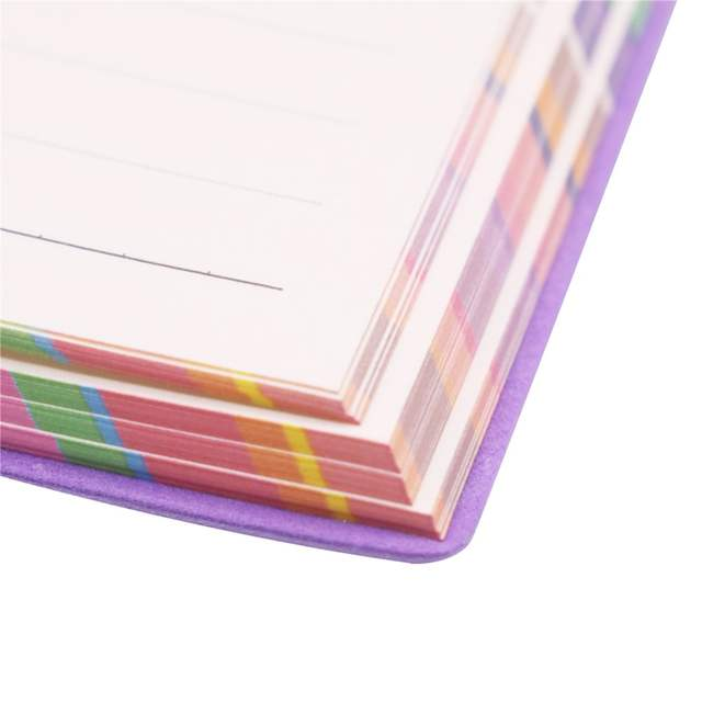 1 Pcs Color Edge Wedding Notebook Notepad Girl Diary Student