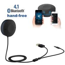 2016 Новый Горячий Bluetooth Car Kit Мини Bluetooth V4.1 Аудио Приемник Музыка Портативная Hands-Free & Оптовая