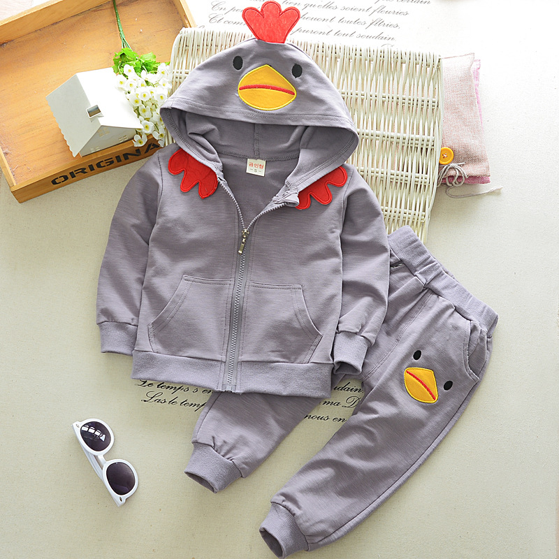 Girls Fashion Clothing sets Children Clothing Baby girls Cartoon T shirts Tops and Pants suit Boys Sports Suit Toddler Clothes