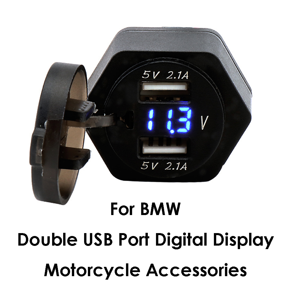 BMW F650GS MOTORCYCLE dual USB CHARGER PORT
