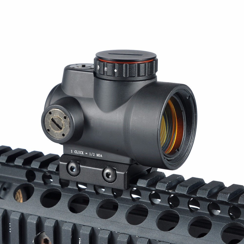 ФОТО New Tactical Optics 1x25mm MRO 2.0 MOA Adjustable Red Dot Scope Sight with Low High Mount