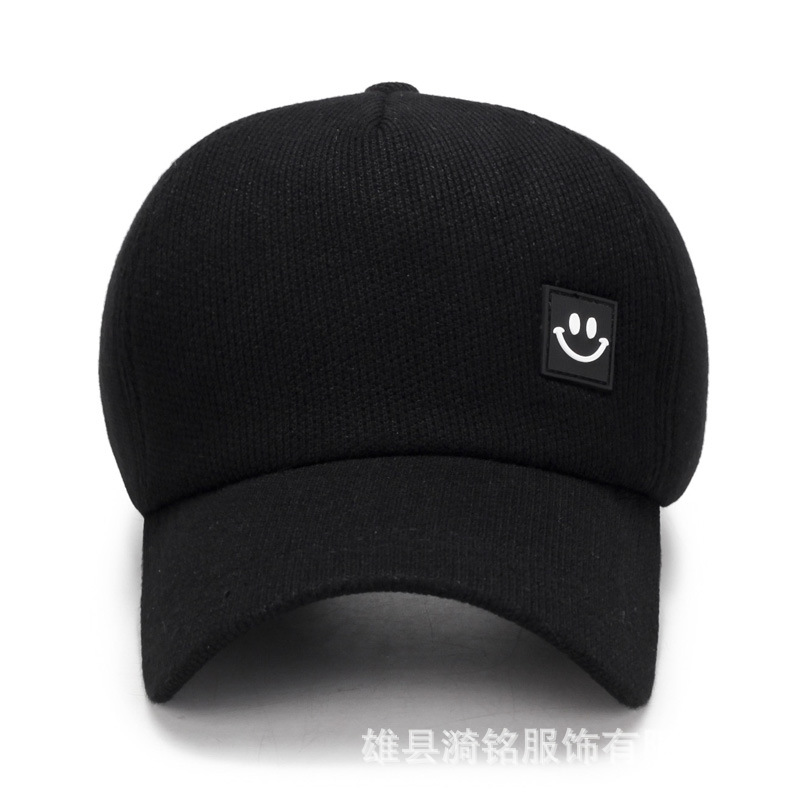 Korean version of the tide brand fashion casual autumn and winter black Hat men and women summer baseball cap