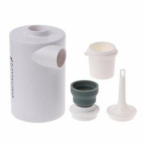 Image 5 - Mini bomba de aire ligera a prueba de agua, carga USB para inflables, inflado rápido