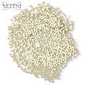 Neitsi Silicone Nano Ring Beads For Micro Loop Links Fusion Keratin Human Hair Extensions Blonde 500 Beads